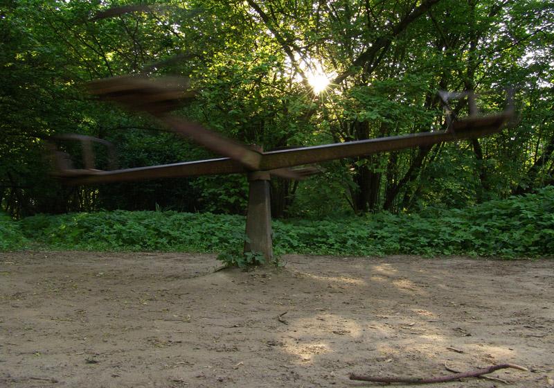 Alter Spielplatz Blankenfelde, im Norden Berlins